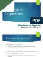 Capitulo 9 - Estrategias de Cooperación