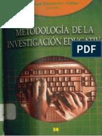 Bisquerra Metodologia de La Investigacion Educativa