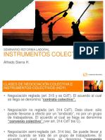 Instrumentos colectivos