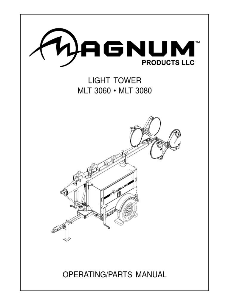 Light Tower MLT 3060 • MLT 3080
