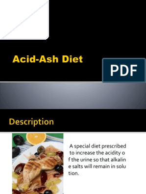 does acid ash diet include cheese