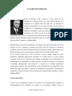 Claude Lévi Strauss 2017