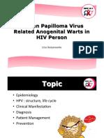 HPV in HIV Person