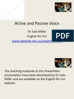 Passives English
