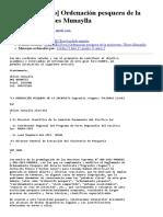 [OANNES Foro] Ordenación Pesquera de La Anchoveta- Ulises Munaylla