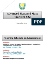 Advance Heat and Mass Transfer Lecture 1