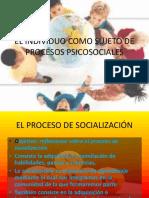 El Individuo Como Sujeto de Procesos Psicosociales III MDP