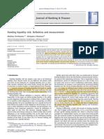 2012 Drehmann - Liquidity and Measurement