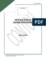 PK19 - LAMPIRAN 2 FORMAT KERTAS KERJA.doc