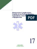 17 Complicaciones Paciente Diabetico