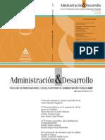 Publicación - Administración y Desarrollo ESAP