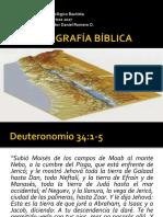 Libros Históricos - Geografía Biblia clase de agosto 2017