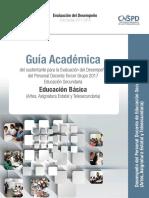 Guía Académica 2017. Secundaria-Telesecundaria