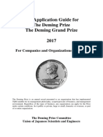 2017 the Application Guide for the Deming Prize2017
