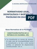 NORMATIVIDAD LEGAL DEONTOLOGICA BIOETICA 2013.pdf