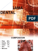 Tema 8 Amalgama Dental