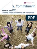 Honesty Communication and Trust  - Delivering Training in Partnership with Young People (preview)