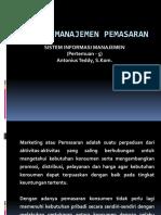 Fungsi Manajemen Pemasaran(1)