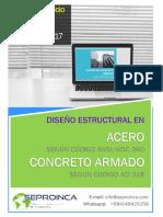 Curso Online Nivelacion y Actualizacion Diseño Acero Concreto 2017.pdf