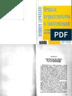 LAPASSADE. Cap.V -Dialéctica de Grupos de Organizaciones y de Instituciones