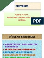 2. Sentences