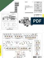 Motoniveladora 140h y 160h_plano Hidraulico
