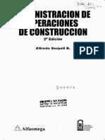 73178615 Administracion de Operaciones de Construccion