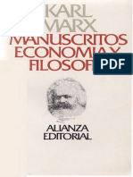 Marx Karl - Manucritos - Economia Y Filosofia.pdf