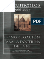 Congregacion Doctrina de La Fe - Documentos 1966 - 2007_BAC_2008