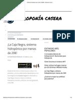 ¡Sistema Hidropónico por menos de 20€! - Hidroponía Casera