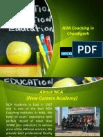 NDA Coaching Institute in India