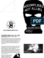 Accomplices Not Allies Print