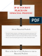 Top 10tourist Places in Himachal