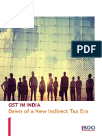 GST in India 2017