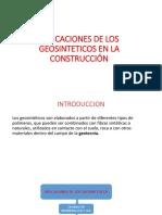 Aplicaciones de Los Geosinteticos en La Construcción