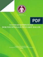 Standar Kompetensi Dokter Spesialis Penyakit Dalam 2014