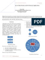 A Comprehensive Study on Data Science and Its Practical Applications