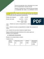 Granulometria, LL, LP
