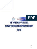 Fire Safety Requirements Part 1 - Buildings Fire Prevention and Prtotection Requirements