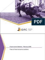 IDFC Fixed Income Presentation Feb 09