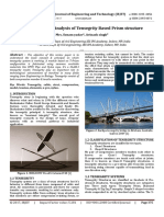 Fabrication and Analysis of Tensegrity Based Prism structure