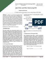 Design of Digital Filter and Filter Bank using IFIR