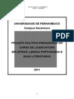 Projeto Letras FFPG 2011