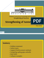 Strengthening of Tunnel Faces