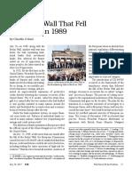 Eir - Glass Steagall e a Formação Da União Europeia