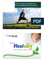 Flexicart - A herbal Product for Osteoarthritis by Tulip Lab Pvt Ltd