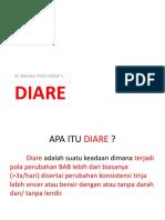 Penyuluhan Diare-dr. Mariana Filda