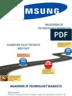 Branding in Technology Markets