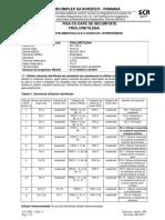 Fisa Cu Date de Securitate Tricloretilena 2015