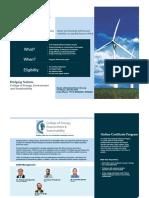 Green Information Brochure